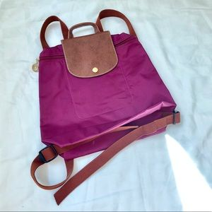 Longchamp Le Pliage backpack - new without tags
